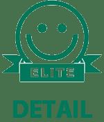 Elite-smiley på detail