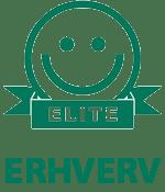 Elite-smiley på erhverv